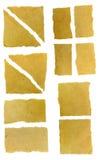установленная бумага сорванной Стоковые Фотографии RF