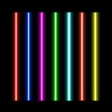 Установленные лазерные лучи Стоковые Фотографии RF