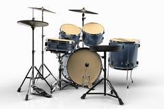 установленные барабанчики Стоковое Фото