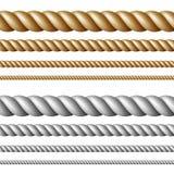 установленные веревочки иллюстрация штока