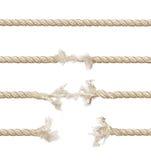 установленные веревочки Стоковое Изображение RF