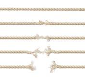 установленные веревочки Стоковые Изображения