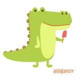 Установленные животные - аллигатор Стоковая Фотография RF
