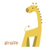 Установленные животные - жираф Стоковые Фото