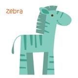 Установленные животные - зебра Стоковое Фото