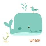 Установленные животные - кит Стоковые Фото