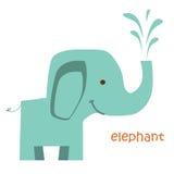 Установленные животные - слон Стоковые Изображения