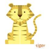 Установленные животные - тигр Стоковое Фото