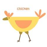 Установленные животные - цыпленок Стоковое Изображение RF