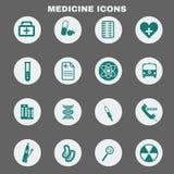 Установленные значки вектора здравоохранения медицинские бесплатная иллюстрация