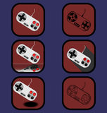 Установленные значки кнюппеля Стоковая Фотография RF