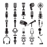 Установленные значки микрофона