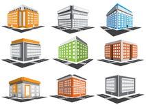 Установленные здания Стоковая Фотография RF
