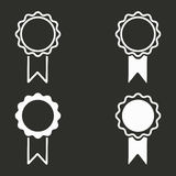 Установленные иконы награды Стоковое Изображение