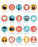 Установленные иконы сети Стоковая Фотография RF