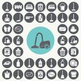 установленные иконы чистки бесплатная иллюстрация