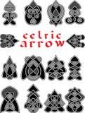 Установленные кельтские стрелки Стоковые Фото