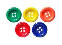 Установленные кнопки цвета Стоковые Фотографии RF