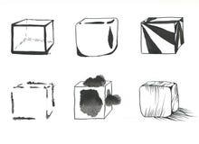 Установленные кубы Стоковые Фото