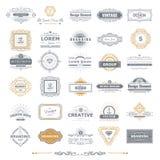 установленные логосы Стоковые Изображения