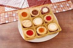 Установленные печенья Стоковое фото RF