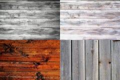 установленные предпосылки деревянными Стоковые Изображения