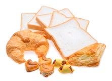 Установленные продтовары хлебопекарни стоковые изображения