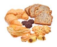 Установленные продтовары хлебопекарни стоковое фото