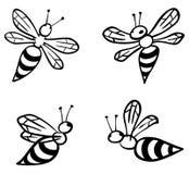 установленные пчелы Стоковое Изображение RF