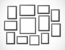установленные рамки Стоковое фото RF