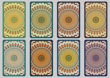 Установленные ретро карточки Стоковое Фото