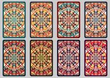 Установленные ретро карточки Стоковая Фотография RF