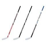 Установленные ручки хоккея на льде также вектор иллюстрации притяжки corel Стоковая Фотография RF