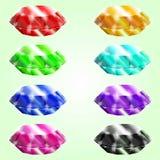 установленные самоцветы Стоковые Фото