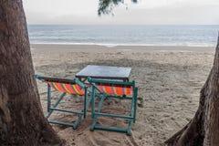 установленные стулы стоковая фотография rf
