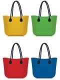 Установленные сумки Стоковое Изображение