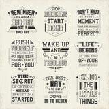Установленные цитаты жизни