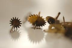 установленные cogwheels Стоковая Фотография RF