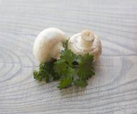 Установленный свежий овощ с зелеными лист Стоковая Фотография RF