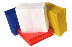 устранимая бумага салфеток Стоковые Изображения