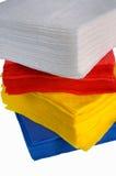 устранимая бумага салфеток Стоковое фото RF