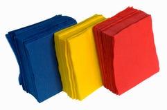 устранимая бумага салфеток Стоковое Изображение