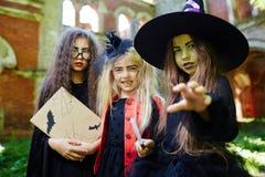 Устрашение хеллоуина Стоковое Фото