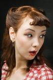 устрашенная женщина Стоковые Фотографии RF