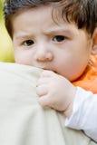 устрашенный ребёнок Стоковая Фотография