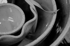 Устроенные удобно керамические шары Стоковая Фотография RF