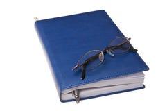 устроитель eyeglasses ballpoint Стоковое Фото