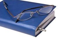 устроитель eyeglasses ballpoint Стоковые Фотографии RF