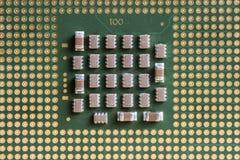Устройство обработки данных централи компьютера Стоковые Фотографии RF