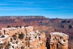 Уступчик на грандиозном каньоне Стоковое фото RF